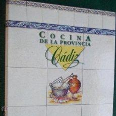 Segunda Mano: FICHAS DE LA COCINA DE LA PROVINCIA DE CÁDIZ. Lote 54667675
