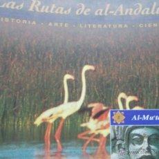Segunda Mano: LAS RUTAS DE AL-ANDALUS AL-MU TAMID. Lote 54668596