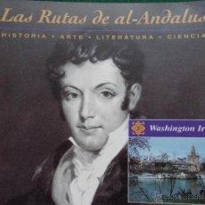 Segunda Mano: LAS RUTAS DE AL-ANDALUS WASHINGTON IRVING. Lote 54669814