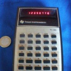Segunda Mano: ANTIGUA CALCULADORA.TEXAS INSTRUMENTS, TI-30.CON 8 DIGITOS.. Lote 54745711
