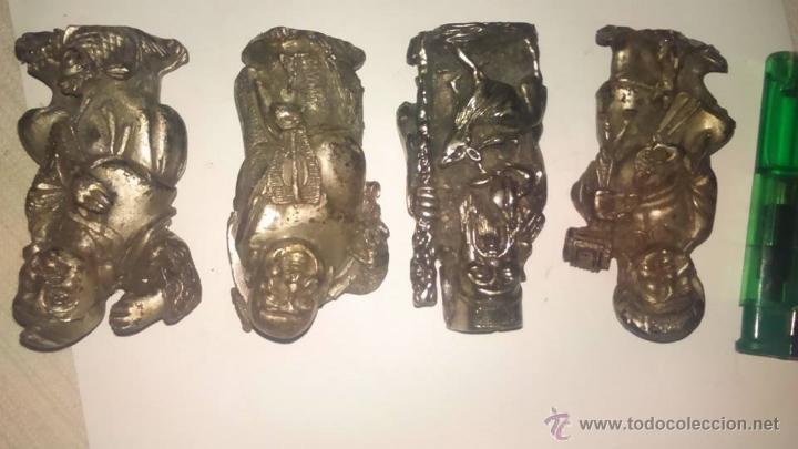 Segunda Mano: lote 4 pequeños budas y monje buda - Foto 2 - 54750726
