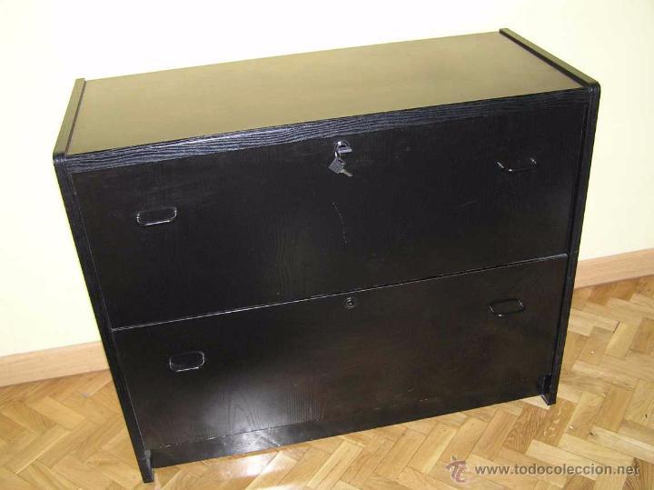 mueble archivador fichero de madera lacado en n comprar