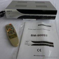 Segunda Mano: RECEPTOR DIGITAL TERRESTE & DIGITAL TV SATELITE DOS EN UNO Y CON MANDO A DISTANCIA Y CON CONEXION RS. Lote 54801692