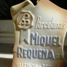 Segunda Mano: PORCELANA VINTAGE ANUNCIO MIQUEL REQUENA DE VALENCIA-ESPAÑA. Lote 54843058