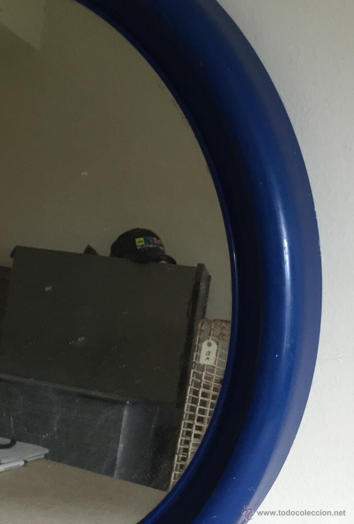 Segunda Mano: Espejo baño marco plástico azul - Foto 2 - 54871590