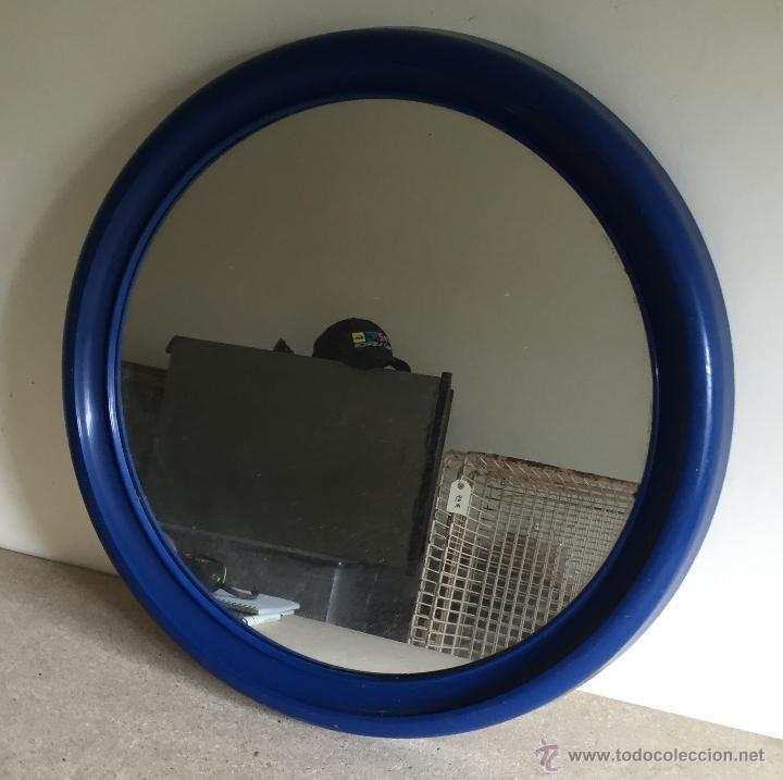 Segunda Mano: Espejo baño marco plástico azul - Foto 3 - 54871590
