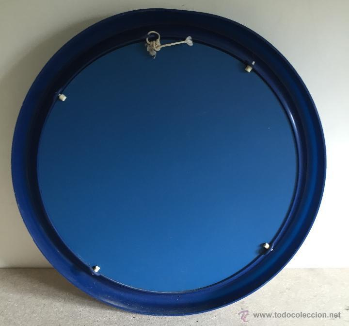 Segunda Mano: Espejo baño marco plástico azul - Foto 4 - 54871590