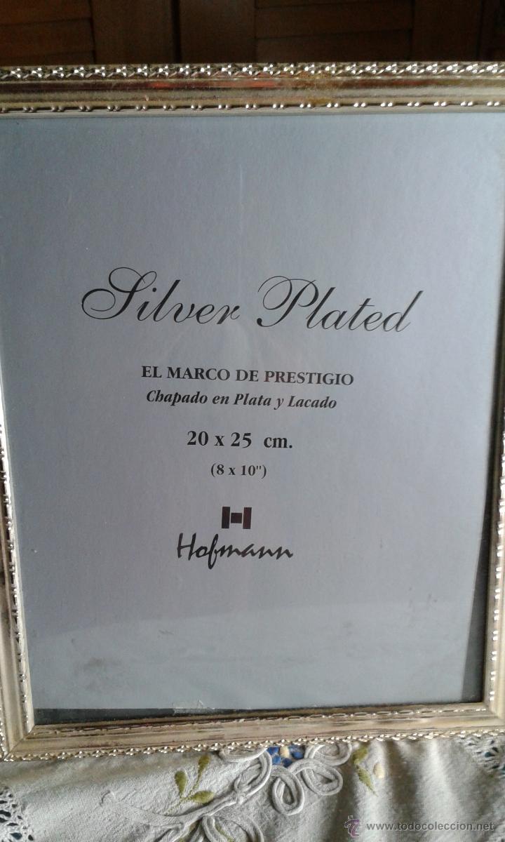 marco para fotos hofmann, chapado en plata y la - Comprar artículos ...