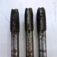 Segunda Mano: LOTE 3 MACHOS DE ROSCAR 5/8-11 BSW, 99 MM LONGITUD TOTAL. Lote 55244299