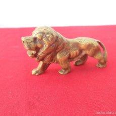 Segunda Mano - figura leon de bronce - 55312506