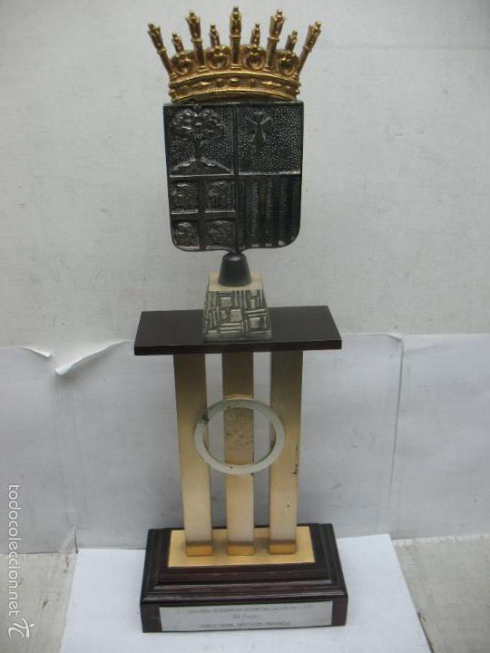 Segunda Mano: Trofeo VII CONCURSO FOTOGRÁFICO DEPORTIVO CALATAYUD 1981 PRIMER PREMIO - Foto 6 - 55531166