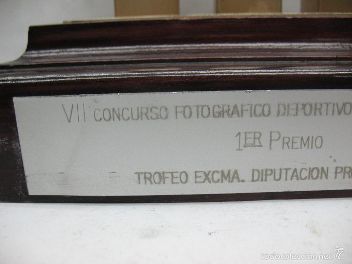 Segunda Mano: Trofeo VII CONCURSO FOTOGRÁFICO DEPORTIVO CALATAYUD 1981 PRIMER PREMIO - Foto 9 - 55531166