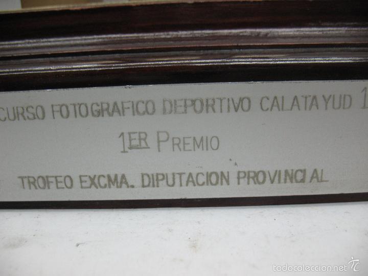Segunda Mano: Trofeo VII CONCURSO FOTOGRÁFICO DEPORTIVO CALATAYUD 1981 PRIMER PREMIO - Foto 10 - 55531166