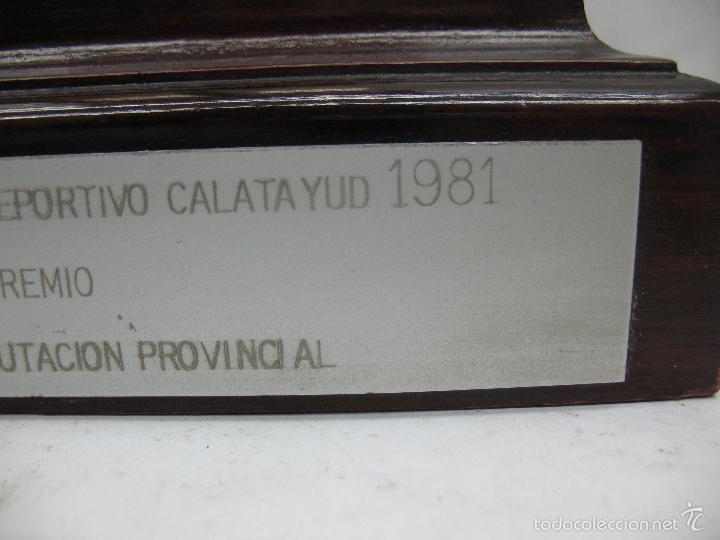 Segunda Mano: Trofeo VII CONCURSO FOTOGRÁFICO DEPORTIVO CALATAYUD 1981 PRIMER PREMIO - Foto 11 - 55531166