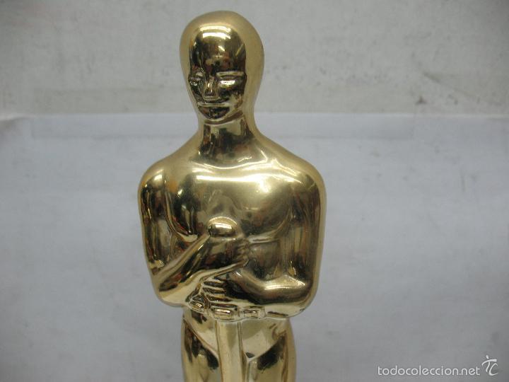 Segunda Mano: Trofeo Óscar AL MÁS TROTAMUNDOS - Foto 2 - 55539068