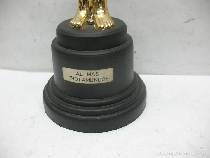 Segunda Mano: Trofeo Óscar AL MÁS TROTAMUNDOS - Foto 4 - 55539068