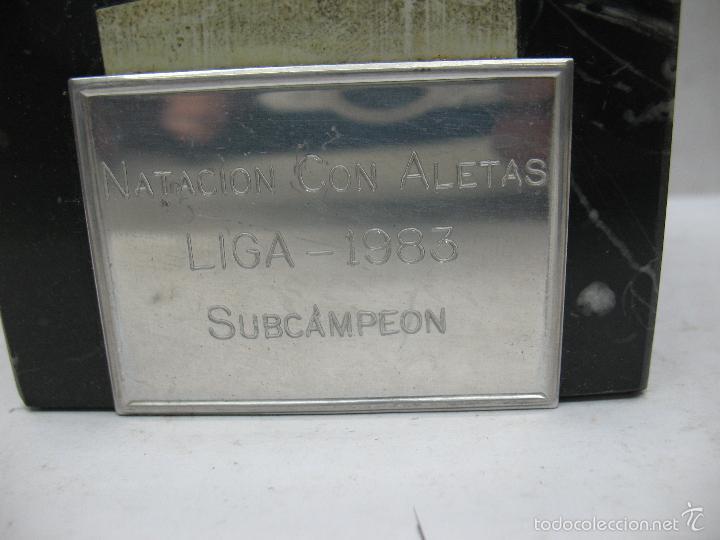 Segunda Mano: Trofeo NATACIÓN CON ALETAS LIGA 1983 SUBCAMPEON - Foto 5 - 55542641