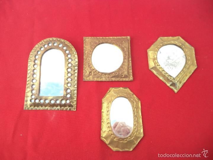 pequeos espejos arabes metal segunda mano hogar y decoracin
