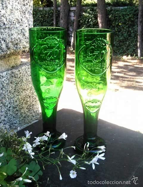 Copas realizadas con botellas de cerveza alhamb comprar - Decoracion segunda mano ...