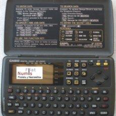 Segunda Mano: AGENDA DIGITAL - CASIO SF- 4300 - CON MANUAL. Lote 56103634