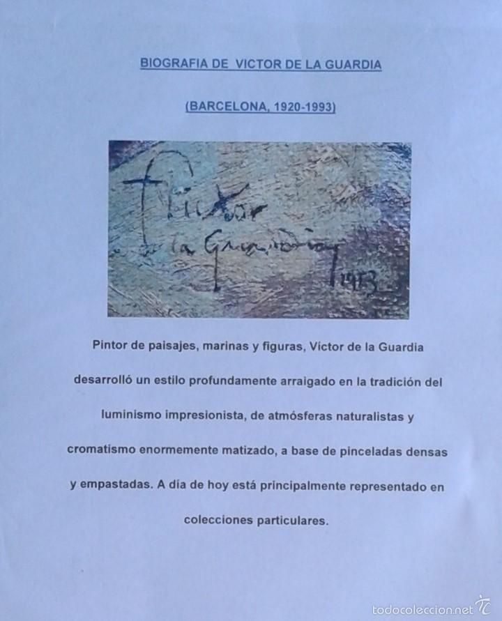 Segunda Mano: VICTOR DE LA GUARDIA (BARCELONA, 1920-1993) - LAMINA CAN VIOLÍ A DOS CARAS 42 X 30 - Foto 4 - 56171445