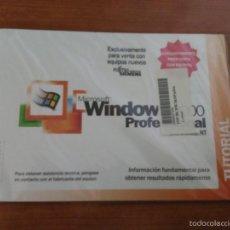 Segunda Mano: SISTEMA OPERATIVO WINDOWS 2000 PROFESIONAL NUEVO EN SU FUNDA SIN DESPRECINTAR. Lote 56281782