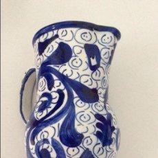 Zweite Hand - Jarra de loza decorada en azul - 56569233