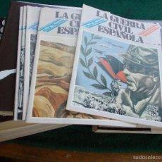 Segunda Mano: LOTE DE FASCÍCULOS LA GUERRA CIVIL ESPAÑOLA HUGH THOMAS. Lote 56891231
