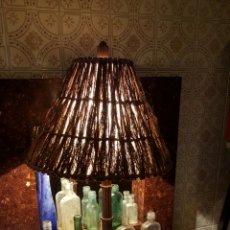 Segunda Mano: LAMPARA GRANDE DE SOBREMESA, 68CM. Lote 56928450