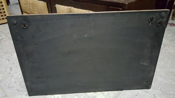 Segunda Mano: CUADRO DECORATIVO, INTERIOR MADERA TALLADA, 67X46cm - Foto 4 - 177192435