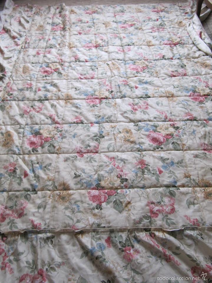 Colcha o edredon con motivos florales estilo ro comprar for Decoracion hogar segunda mano