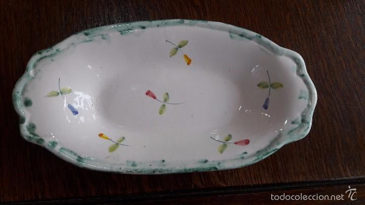 Segunda Mano: fuente ceramica pequeña decorada - Foto 2 - 57180922