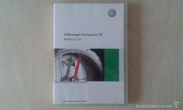 CD VOLKSWAGEN NAVIGATION FX - BENELUX (V1) - BÉLGICA, LUXEMBURGO, HOLANDA -- (Segunda Mano - Artículos de electrónica)