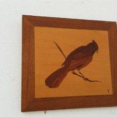 Segunda Mano - figura pajaro de madera - 57404902