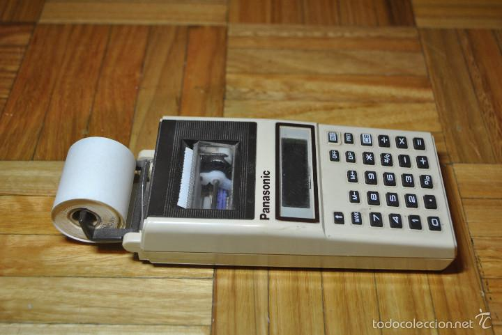Segunda Mano: Calculadora PANASONIC JE-610P CON IMPRESORA - Foto 3 - 57681438