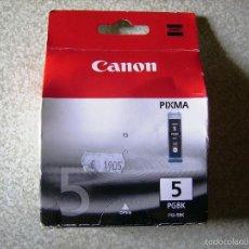 Segunda Mano: CARTUCHO TINTA PARA IMPRESORA CANON PRIXMA...NEGRO...PGBK 5. Lote 57852552