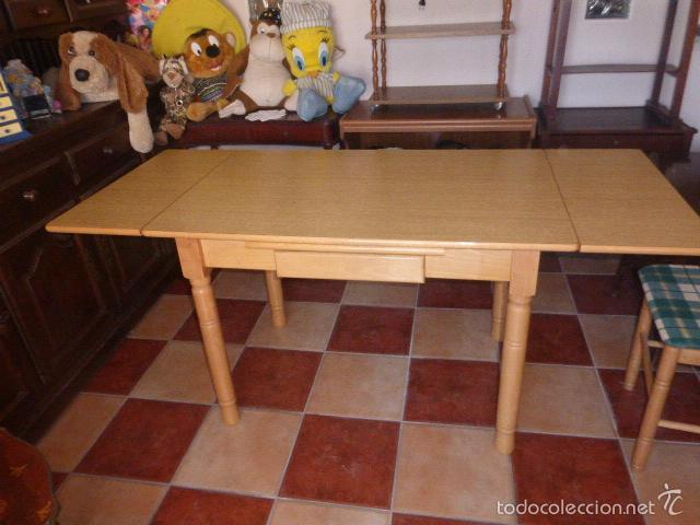 mesa de cocina extensible de madera en color pi - Kaufen Artikel für ...