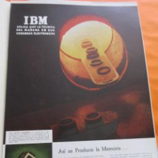 D'Occasion: PUBLICIDAD 1957 - COLECCION EMPRESAS - IBM . Lote 58247039