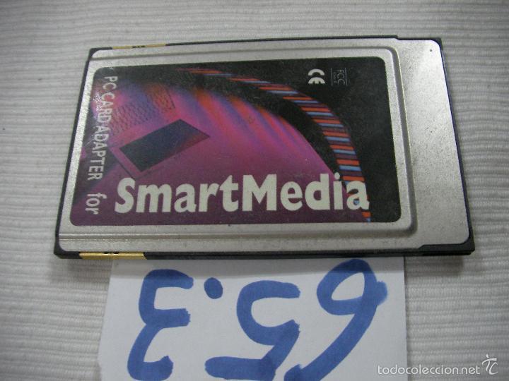 PC CARD ADAPTER SMARTMEDIA - ENVIO INCLUIDO A ESPAÑA (Segunda Mano - Artículos de electrónica)