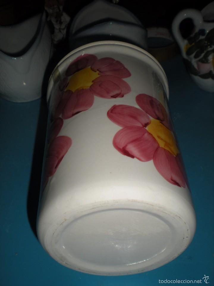 Segunda Mano: Tarro cerámica para azucar pintado a mano - Foto 3 - 58418926