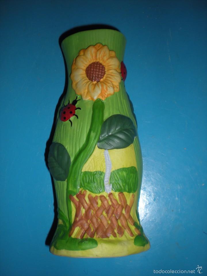 Jarr n cer mica pintado a mano con girasoles comprar for Decoracion hogar segunda mano