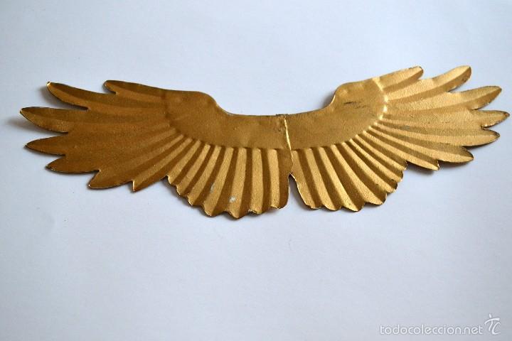 Segunda Mano: Preciosa Ala de metal dorado ideal para decoración - Foto 3 - 58514117