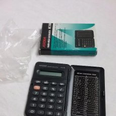 Segunda Mano: CALCULADORA AURORA HAND HELD CALCULATOR HC108 EN CAJA ORIGINAL . Lote 58578749