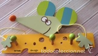 PERCHA INFANTIL DE DISEÑO, DE TAF STUDIO POR ALAIN CROZON (Segunda Mano - Hogar y decoración)
