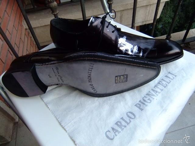 Zapatos Comprar De Cuero Para Pignat Carlo Negro Hombre En TwTrqU