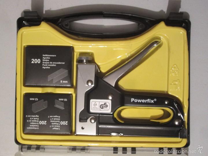 Maletin grapadora comprar en todocoleccion 60948355 - Grapadora de mano ...