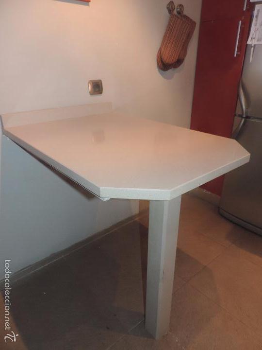 Preciosa mesa de barra cocina tipo bar americ comprar - Mesas de silestone ...