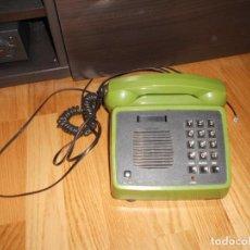 Segunda Mano: ANTIGUO TELEFONO DE TELEFONICA MOD. AMPER AÑOS 80 CON MANOS LIBRES Y COLOR VERDE. Lote 61779868