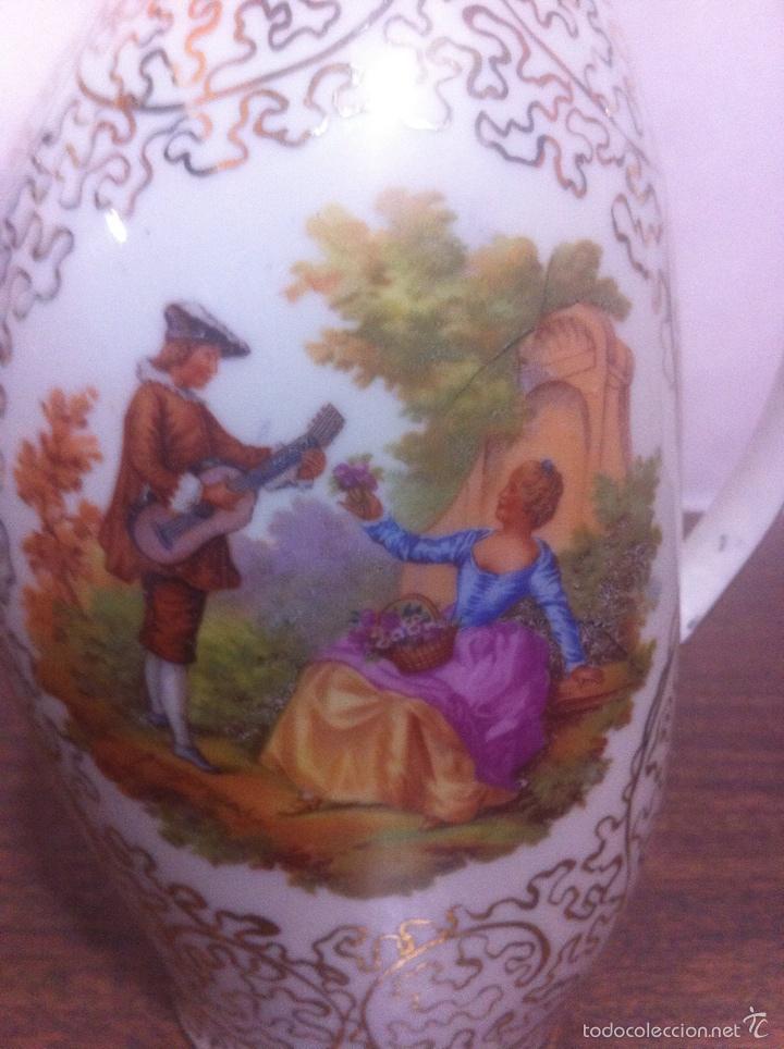 Segunda Mano: 2 jarrones Con dibujo pintado a mano - Foto 5 - 62457887