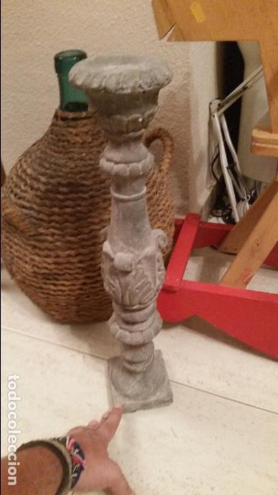 Candelabro De Piedra Articial 50 Cm Altura Atri Kaufen Artikel Für